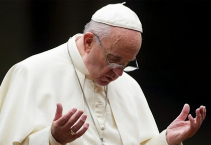 Rezamos unidos · Comunicado del Papa Francisco